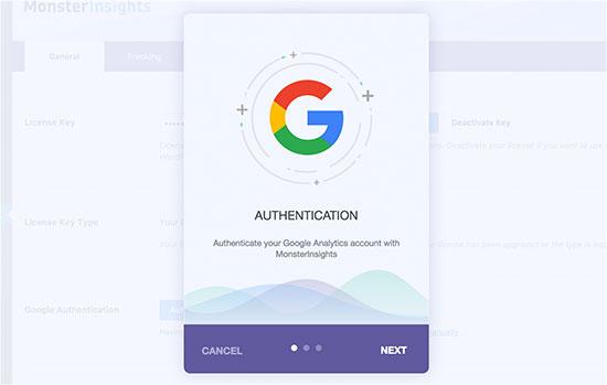 miauthenticate-mabnawp آموزش نصب اصولی گوگل آنالیتیکس در وردپرس Google Analytics