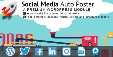 افزونه وردپرس اشتراک گذاری خودکار مطالب Social Media Auto poster