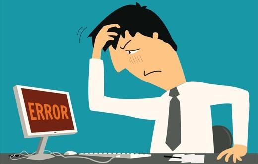 رایج ترین خطاهای وردپرس + آشنایی و راه حل