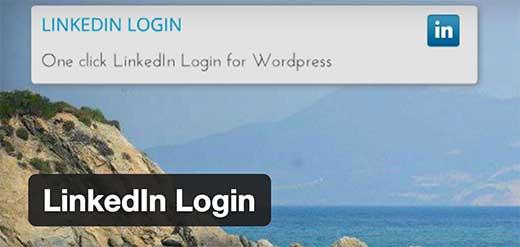linkedin-login ۱۶ افزونه برای سفارشی سازی ورود