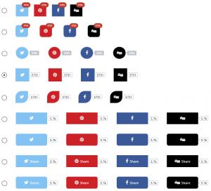 نمایش آیکون های شبکه اجتماعی در وردپرس