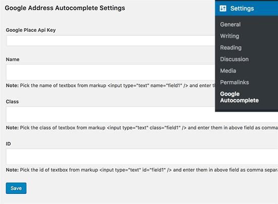 آموزش خودکار کردن کامل شدن آدرس لینک فیلد ها در وردپرس