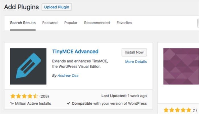 mabnawp-Tablepress-mte-TinyMCE-Advanced-Install آموزش وردپرس چگونه یک جدول زیبا در وردپرس ایجاد کنیم