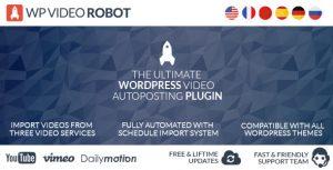 افزونه ربات ارسال ویدئو وردپرس WordPress video robot