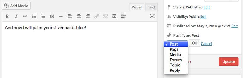 post-types تبدیل پست تایپ های وردپرس به یکدیگر با افزونه های Post Type Switcher و Convert post types