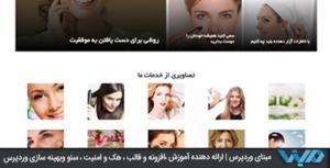 پوسته قالب وردپرس زیبا و رایگان فارسی fastest برای وبلاگ نویسی