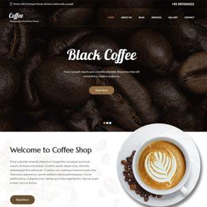 قالب وردپرس برای کافه SKT Cafe | قالب رایگان کافی شاپ وردپرس