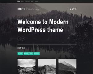 قالب وردپرس وبلاگی Moderne