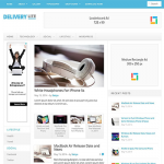 قالب وبلاگی Delivery Lite