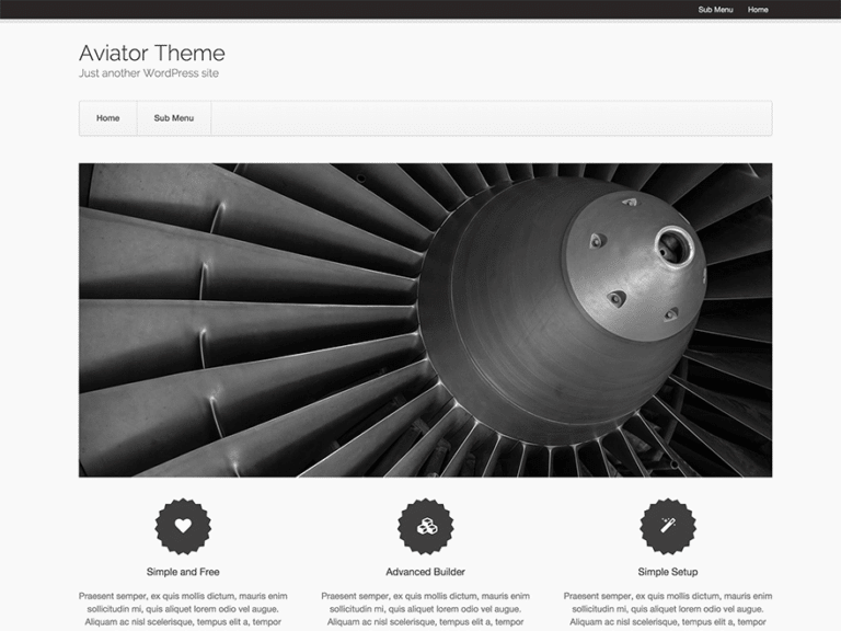 aviator-theme
