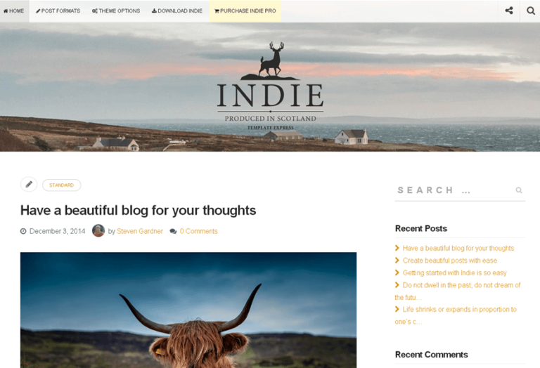 indie-theme