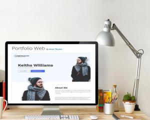 قالب وردپرس Portfolio Web