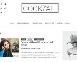 قالب وردپرس Cocktail