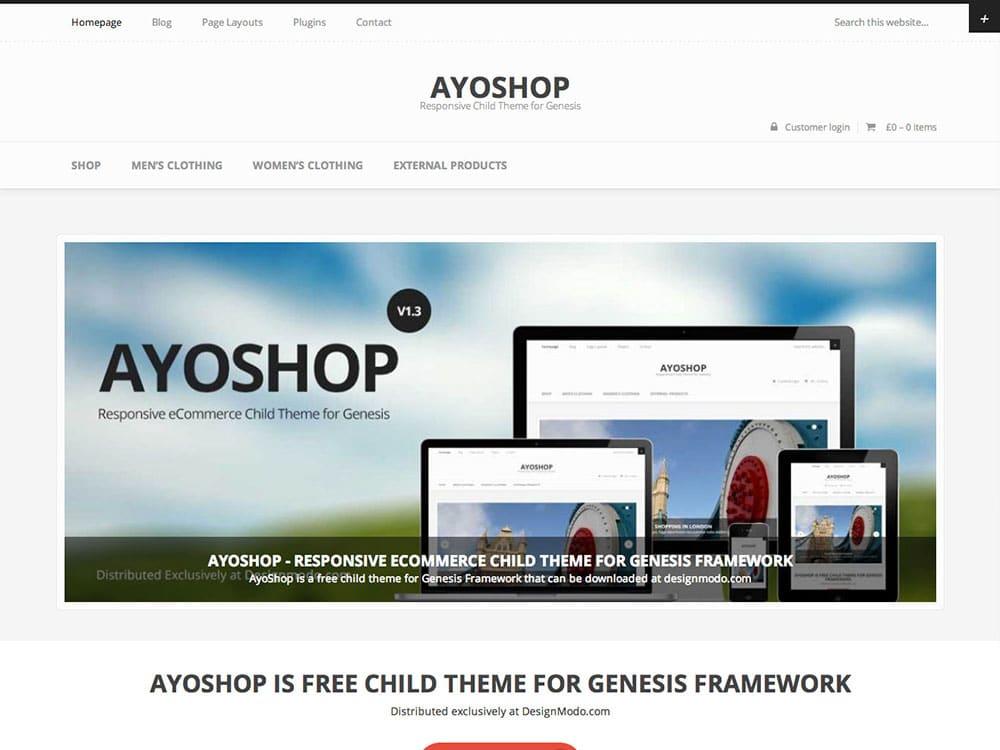 AyoShop-قالب وردپرس