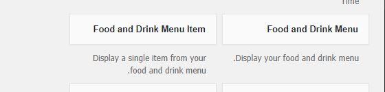 menu-widgets