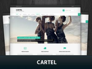 قالب فروشگاهی وردپرس Cartel فارسی