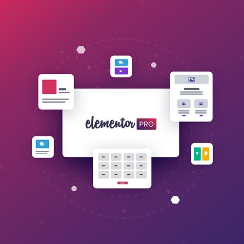 افزونه Elementor Pro المنتور با قابلیت ایمپورت قالب ها