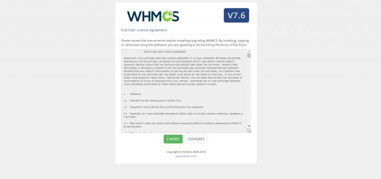 آموزش تصویری نصب whmcs
