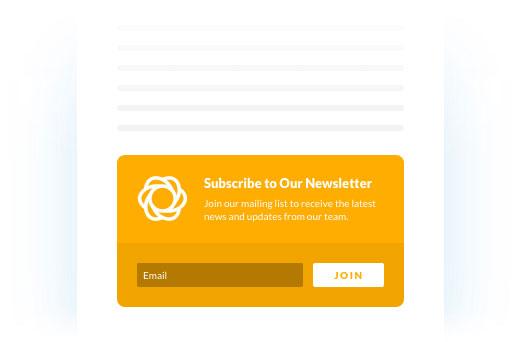 ایجاد فرمهای عضویت در خبرنامه